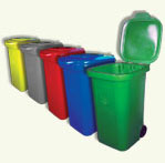 GARBAGE CONTAINERS (DUST & LITTER BINS)
