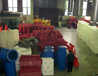 Rotational molding production facilities of EkoProm Ltd.